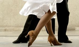 Instructors promote a fun and educational atmosphere during ballroom-dancing, line-dancing, and Chicago stepping classes