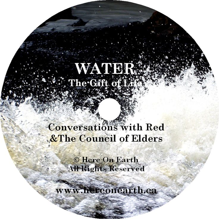 This CD teaches us to understand and respect the 'fource of life' in depths and breadths that  I have not seen before.  From communication and expression of the water, to making medicine and working with ceremony, to understanding water as 'a carrier of history' and a messenger  of starlight and Earth's intentions, the Council of Elders have shared a clear and cool understanding of the  life blood of our planet.  Dive in, the Water is good!   Available now at www.hereonearth.ca