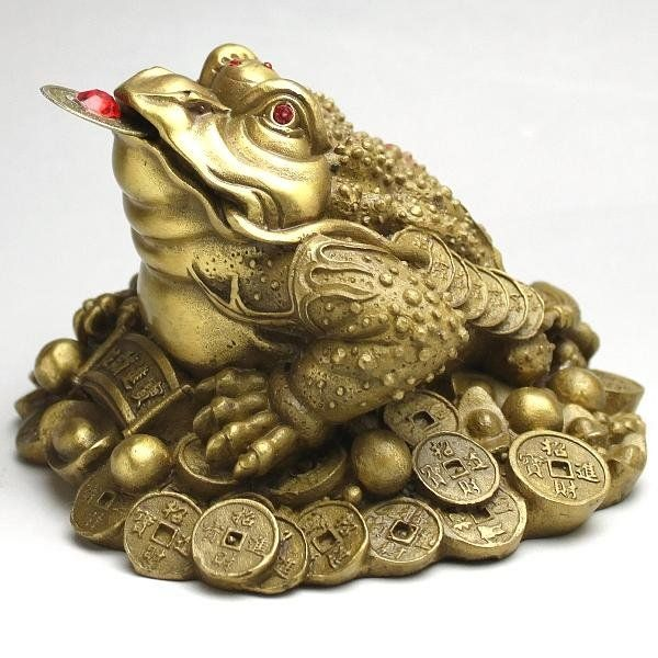 Legend Of  Jin Chan: The 'Golden Toad' – Money Frog That Brings Luck And Is A Feng Shui Charm