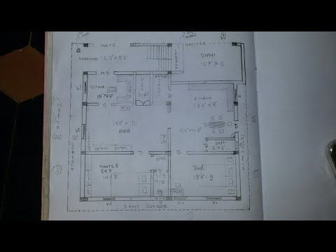 30 X 40 38 X 36 East Face House Plan Walk Through Youtube App Wireframe Wireframe Mobile App