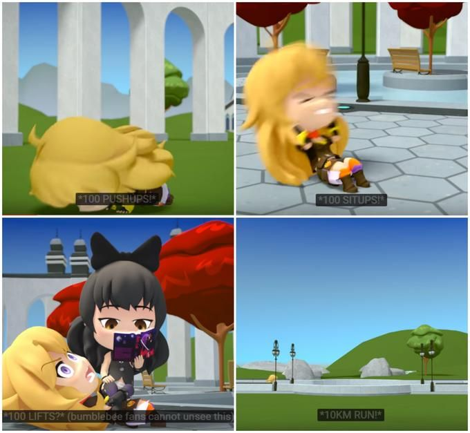 RWBY: Image Gallery | Know Your Meme  Always watch RWBY Chibi with the captions to find these moments