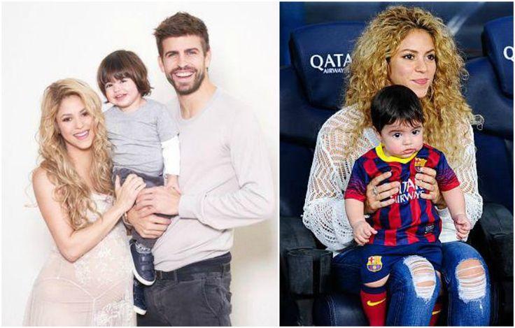 Shakira's kid - son Milan Pique Mebarak