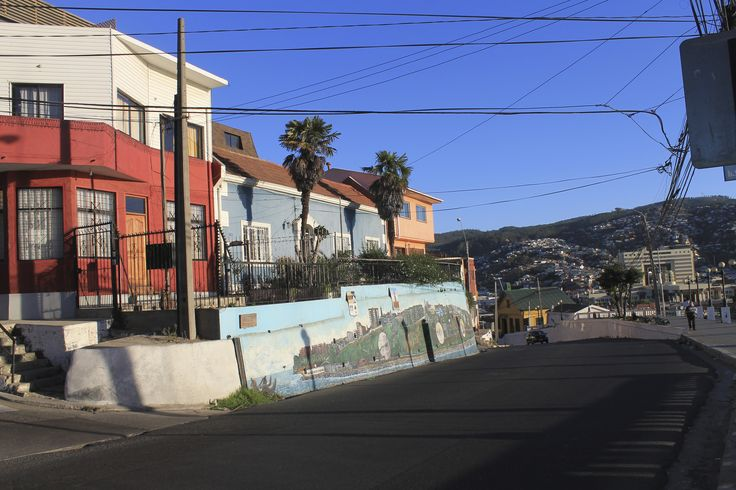 Street scene - Valparaiso, Chile