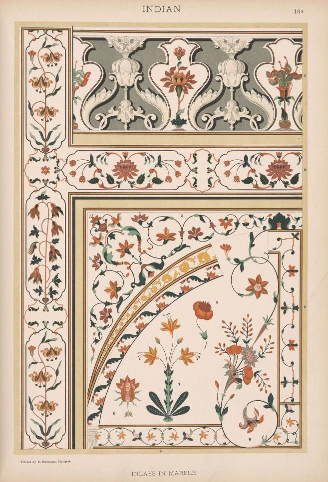 (1898)  --  Historic styles of ornament --   Author: Dolmetsch, H