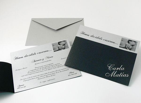 Invitaciones para bodas Cromatica 2013 clásicas | Invitaciones de Boda Diferentes
