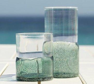 Monterrey Outdoor Tumbler, Set of 6, Turquoise traditional-everyday-glassware