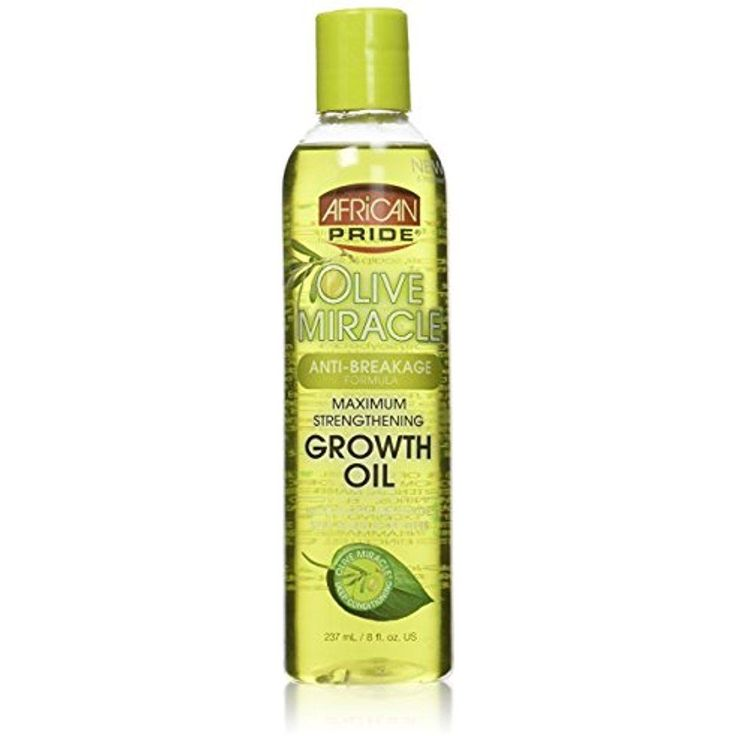 Hair Growth Oil African Pride Olive Miracle Stops Breakage Healthy Scalp 8 Fl Oz #AfricanPride