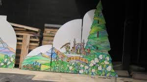 Image result for stage scenery flats