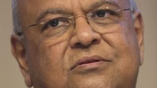 Image copyright                  AFP             Image caption                                      Pravin Gordhan has been seen as standing up to President Zuma in cabinet                               South Africa's President Jacob Zuma has sacked Finance Minister...