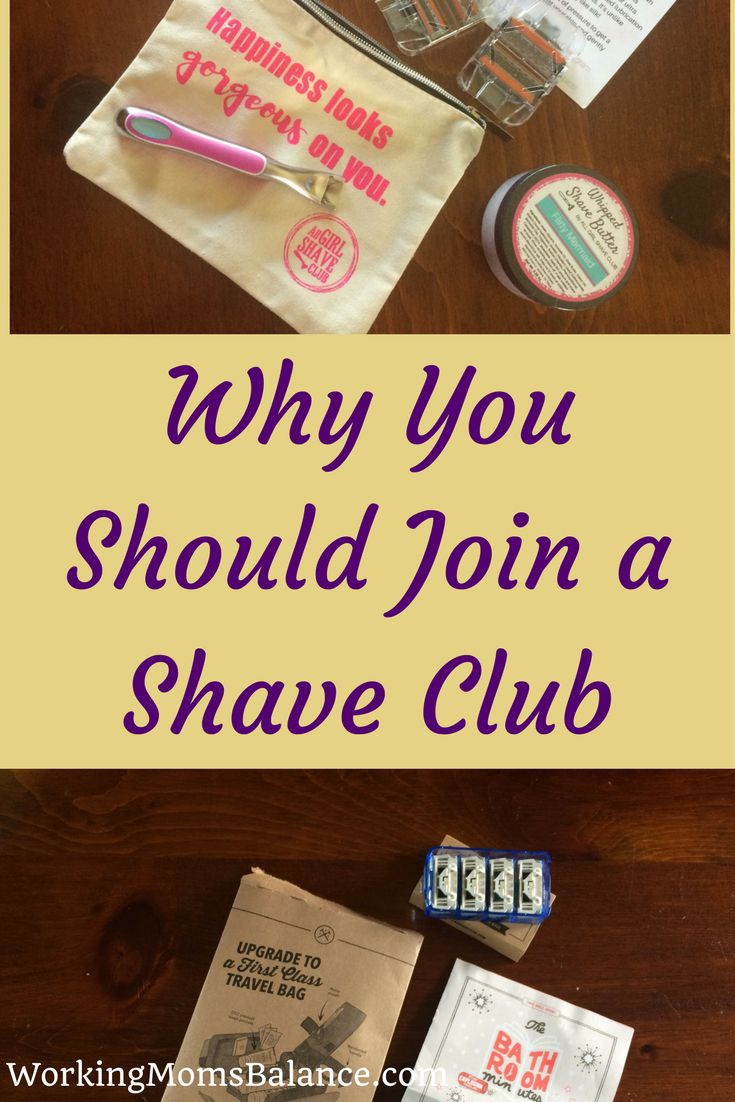 Have you heard about shave clubs? They deliver brand new razor blade cartridges to your mailbox each month. The prices are cheaper than you'd find in the store and the experience is so fun. Did you know there is a shave club for women now too? This post tells you all about shave clubs, why you should join, and my experience with two of the best shave clubs.
