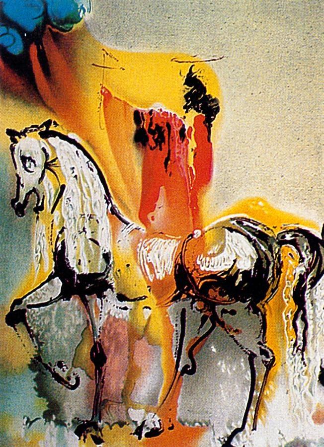 Caballero cristiano, Salvador Dalí