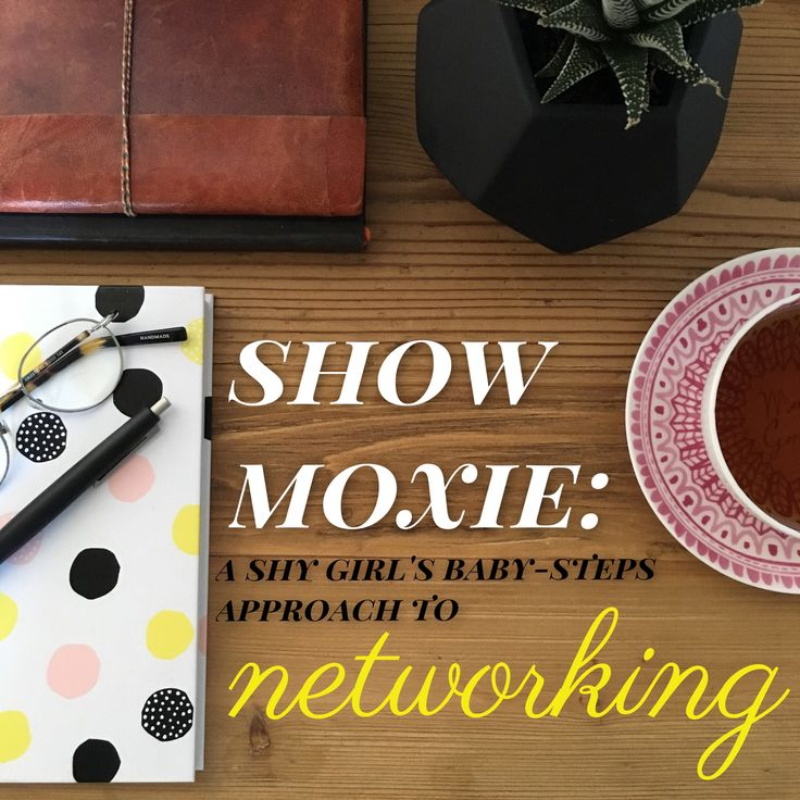 Networking is essential for writers. Here's my shy-girl strategy for overcoming fear and getting my name and work out there.