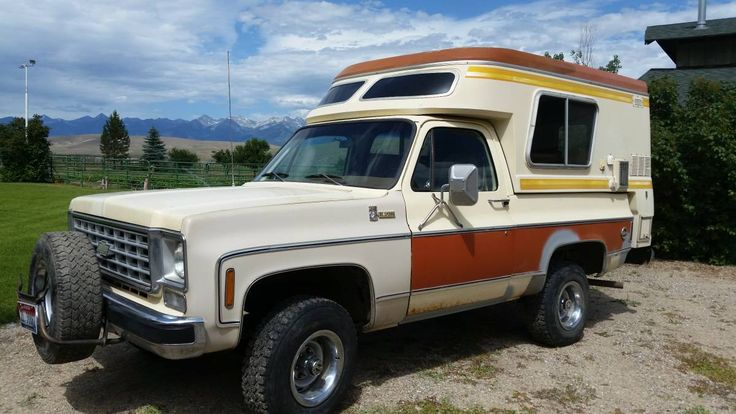 Factory Equipped: 1976 Chevrolet Blazer Chalet Camper - http://barnfinds.com/factory-equipped-1976-chevrolet-blazer-chalet-camper/