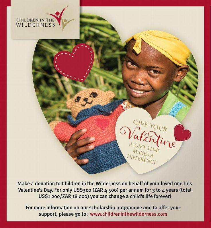 It is the month of love after all and what better way to #MakeADifference :)