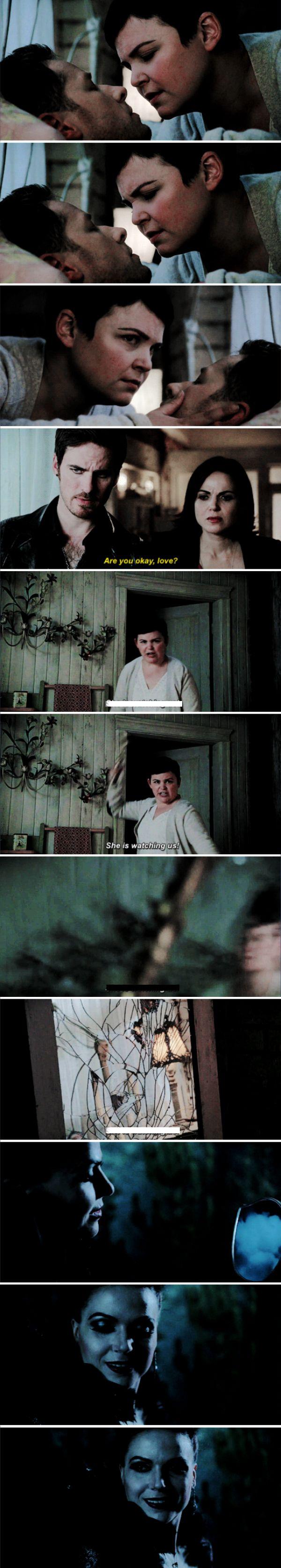 "Snow White, David, Killian, Regina and Evil queen - 6 * 8 ""I'll be your mirror"""