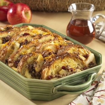 Image for Make Ahead Sausage French Toast Bake