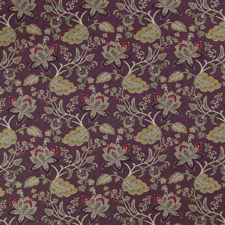 Warwick Fabrics : EVELYN, Colour SHIRAZ