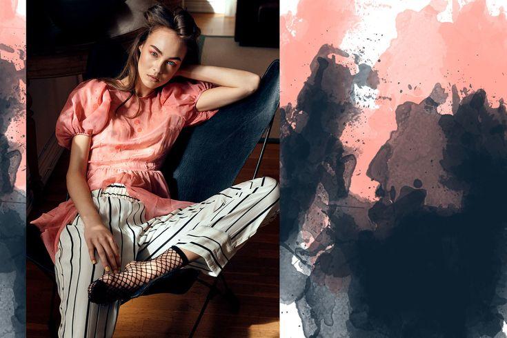 photography by JOSEFINE BÄCKSTRÖM  stylist DAHLIA CELESTINA  hair & make up JESSICA DE LA TORRE / CameraReadyCosmetics.com  model AMELIA / Elite Model Management