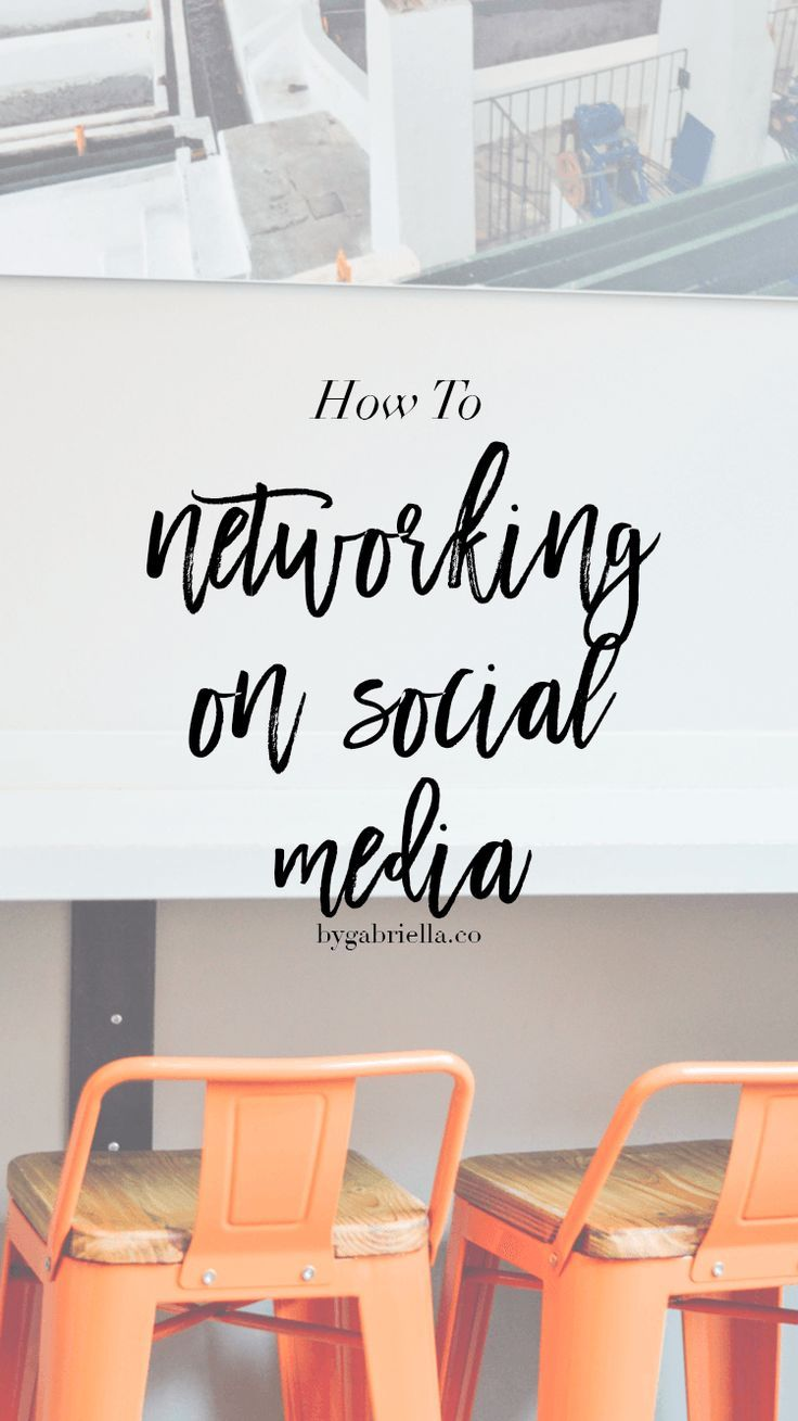 How to: Networking on Social Media // by gabriella   http://weathertightroofinginc.com