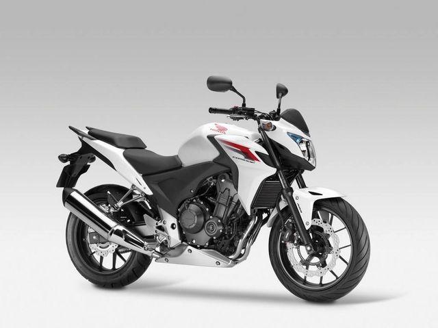 10 buenas motos recomendables para mujeres: Honda CB500F