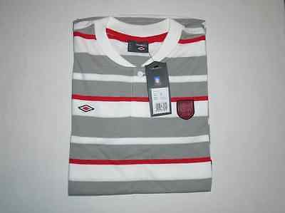 England fa  hooped polo by #umbro #adults size #large  bnwt official fa football,  View more on the LINK: http://www.zeppy.io/product/gb/2/252177474571/