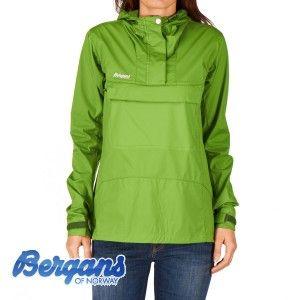 Bergans Jackets - Bergans Cecilie Microlight Jacket - Forest Green/Lt Peony