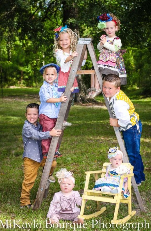 Large family or grandparent gift a photo of the grandkids seven kids in this picture find this pin and more on child photography