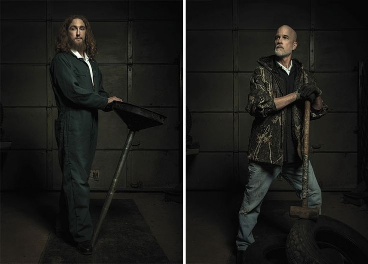 Auto mechanics pay homage to the legendary artworks of Renaissance painters