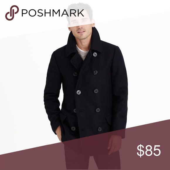 J. Crew Thinsulate Peacoat Classy men's peacoat by J. Crew in excellent worn condition. Staple piece for any guy's wardrobe! J. Crew Jackets & Coats Pea Coats
