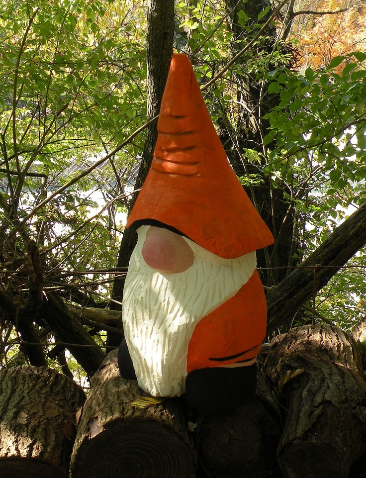 Gnome maple chainsaw carving cool carvings