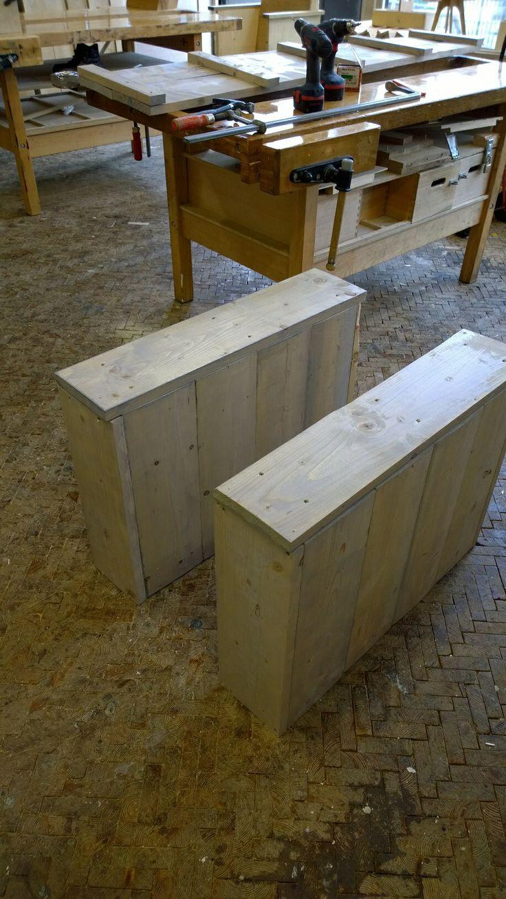 Meer dan 1000 ideeën over geverfd hout op pinterest   houten ...