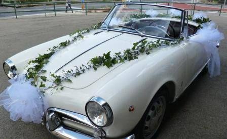 Decorazioni per l'auto degli sposi - Fotogallery Donnaclick