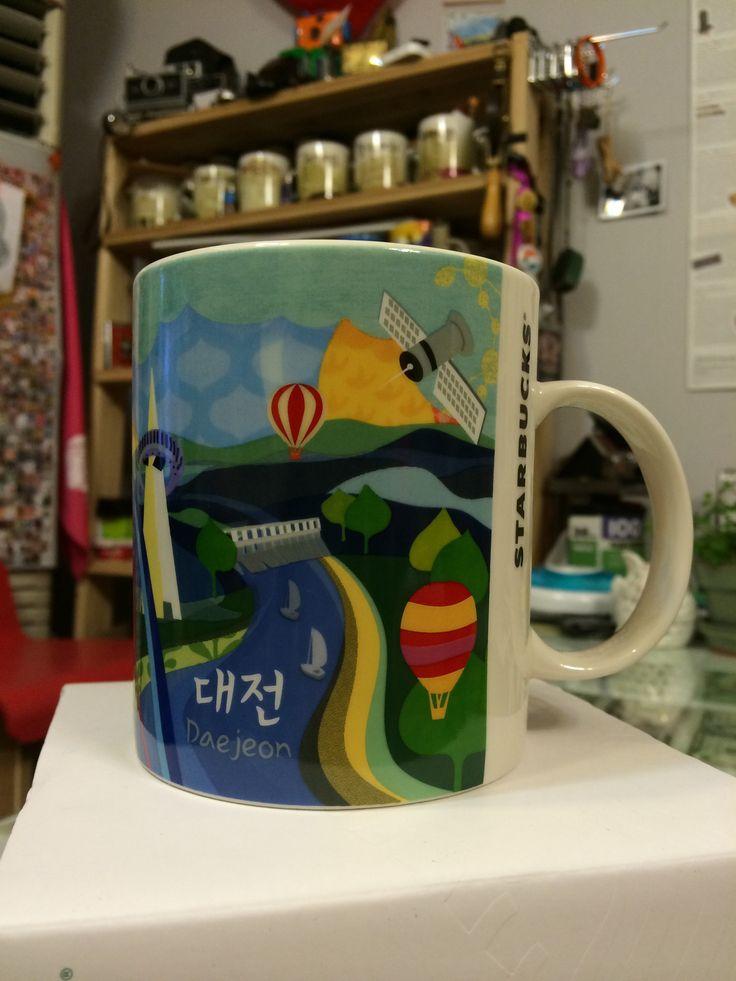 [City Mug DAEJEON] Starbucks city mug  #starbucks #DAEJEON #apple #해외출장선물