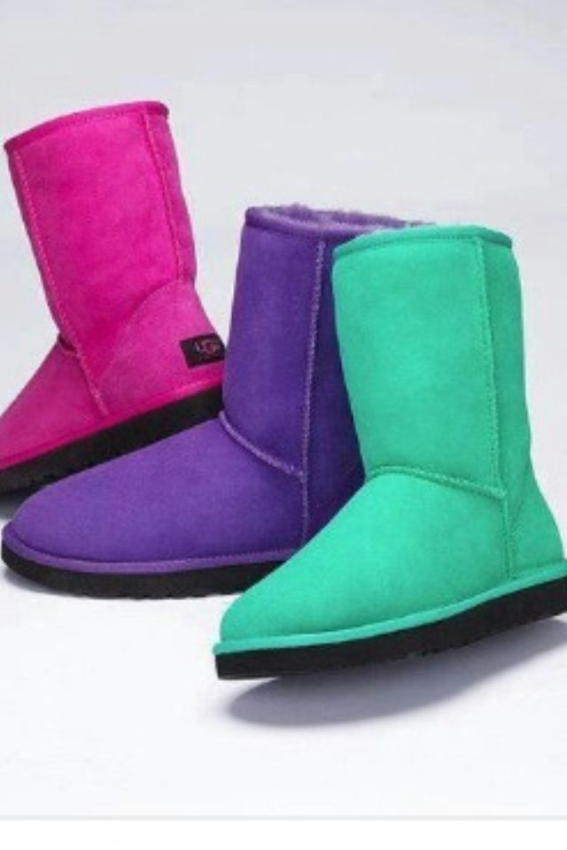 Neon Hot Pink Uggs Uggs Boots Hot Pink