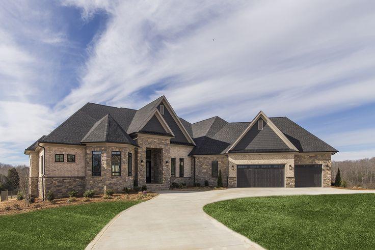 Sample Front Elevation G : Custom bermuda front elevation completed homes a