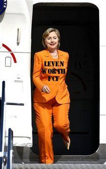 What is your opinion of Mrs Clinton in this orange jumpsuit ...