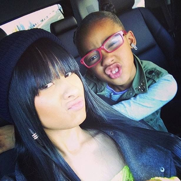Tammy Rivera && daughter! Pose!