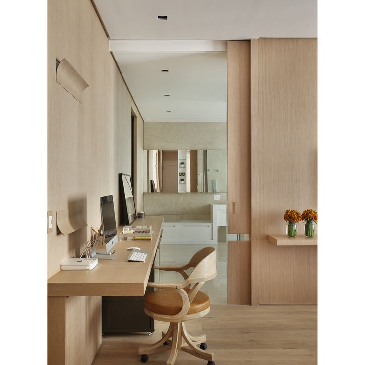 Bedroom, Suite Master, quarto casal, painel, homeoffice #interiordesign #inetriordesigner #project #coolsapces
