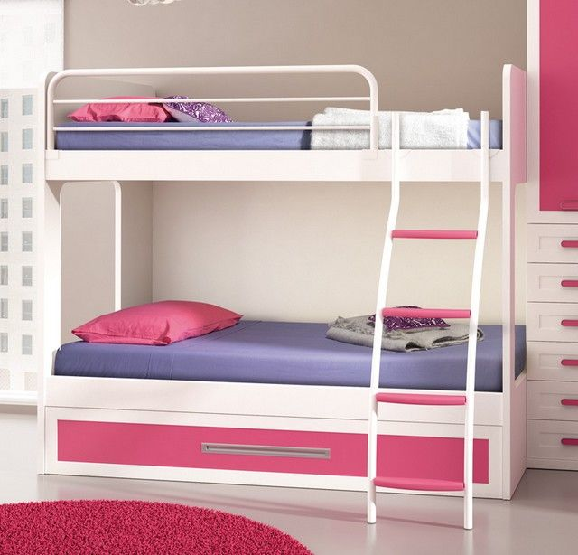 literas para dormitorios compartidos nias