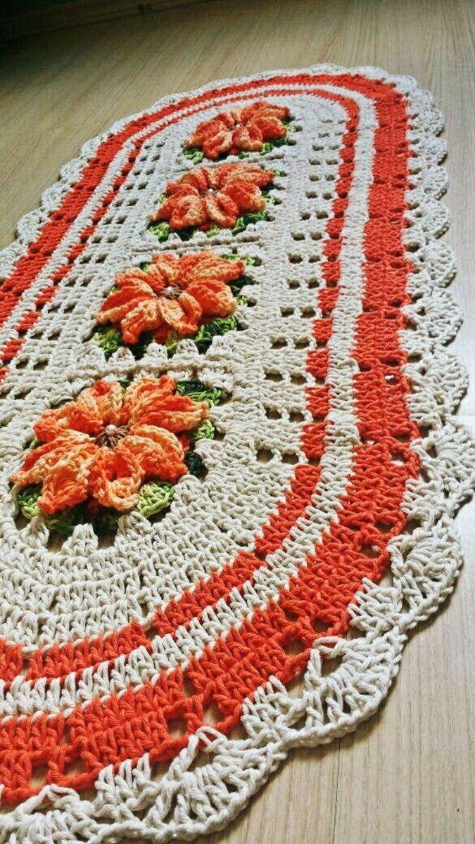 326affdf40 Jogo de cozinha em crochê 3 peças