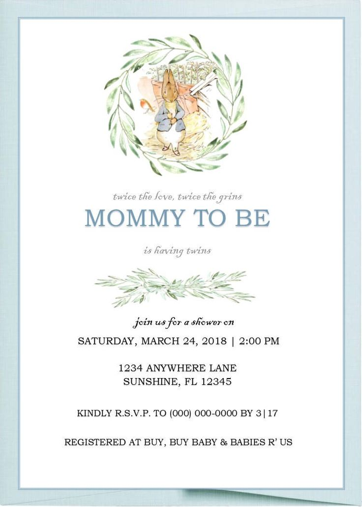 hop into spring with this adorable invite   etsy shop  peter rabbit blank u2026