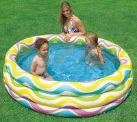 Бассейн надувной детский `Пляжный` (147х33 см)