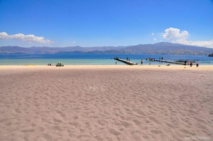 Laguna de tota Boyaca Colombia