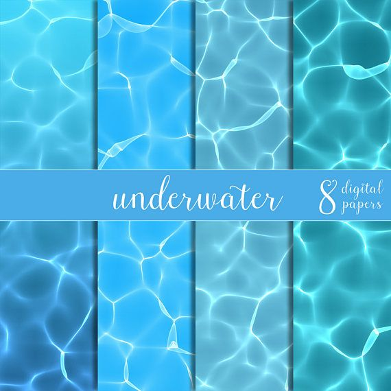 seawater papers underwater papers water digital papers