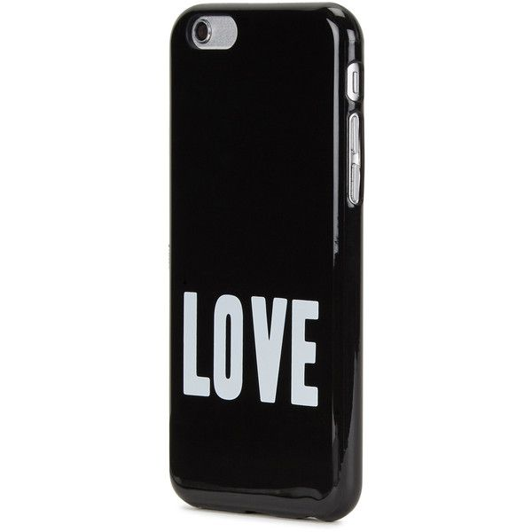 Givenchy Black love iPhone 6/6S case ($115) ❤ liked on Polyvore featuring men's fashion, men's accessories, men's tech accessories and givenchy