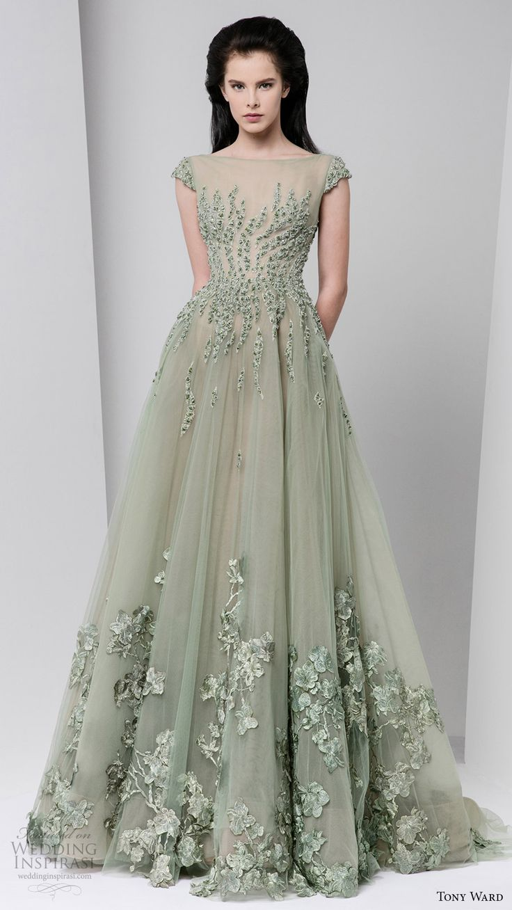 Best 25 Mint Green Wedding Dress Ideas On Pinterest