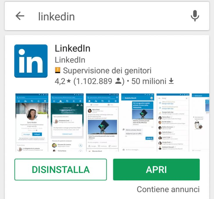 Linkedin app: come scaricare app Linkedin - installare Linkedin app mobile per Android e Apple, e' possibile scaricare app Linkedin lavoro sul cellulare