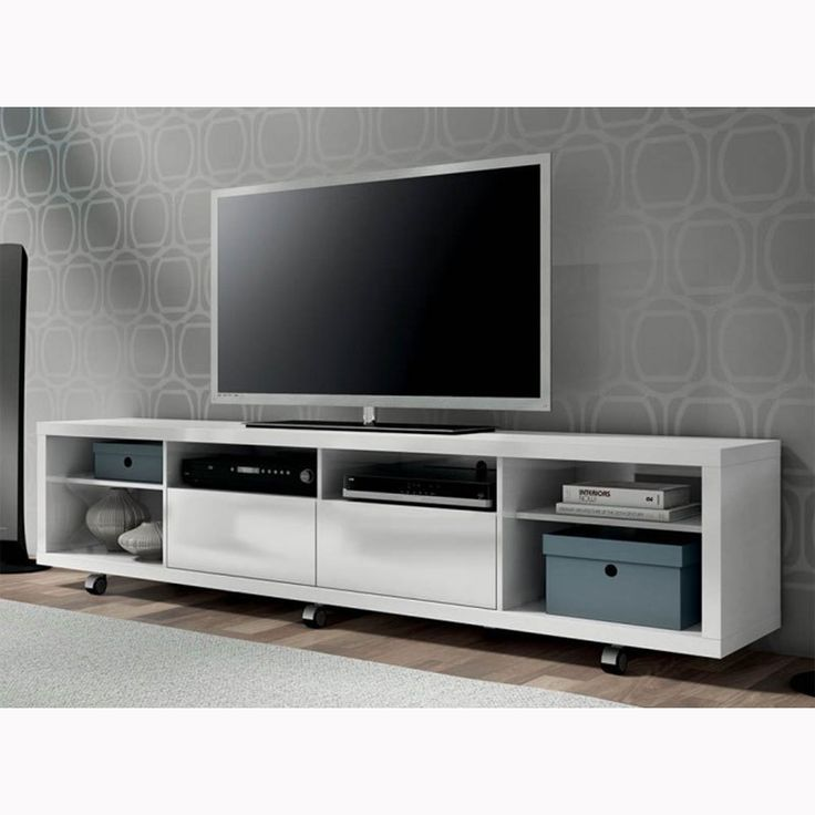 The 25 Best Ideas About Tv Stand On Wheels On Pinterest