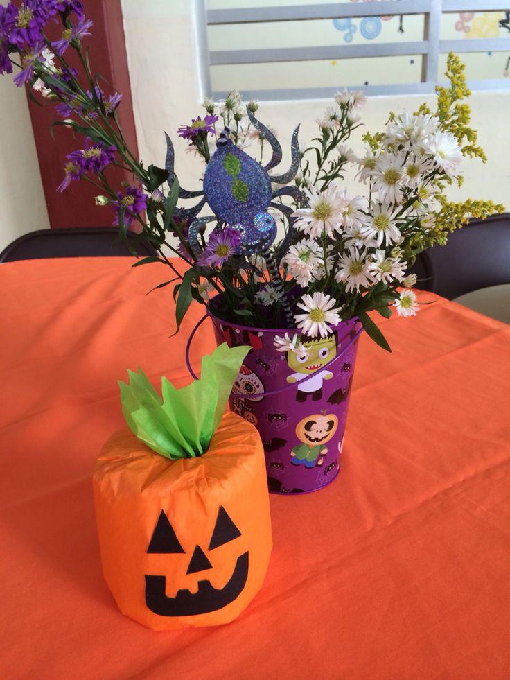 78 images about fiestas yucatecas on pinterest mesas for Centros de mesa para halloween