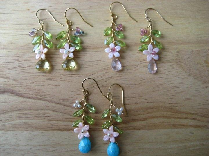Lovely earrings by Rhoda J
